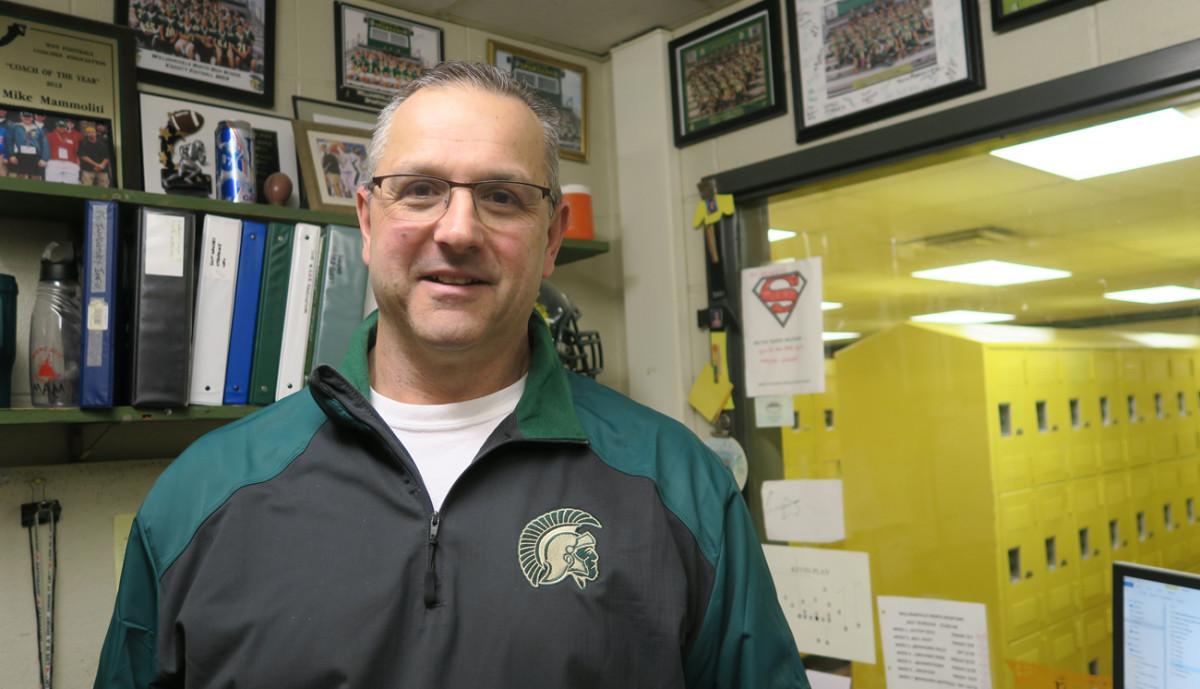 Williamsville North coach Mike Mammoliti.