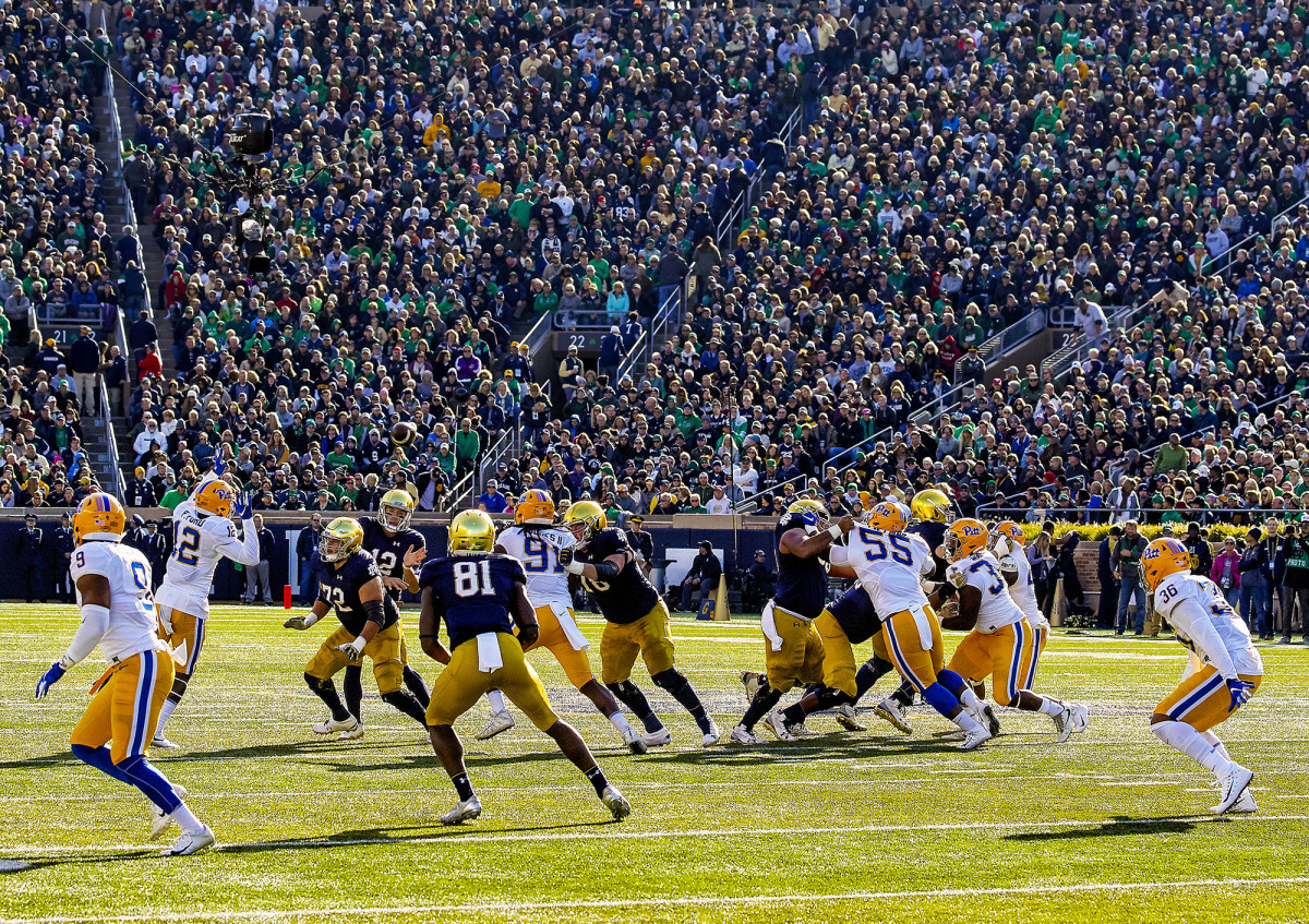 Pittsburgh Panthers vs. the Notre Dame Fighting Irish