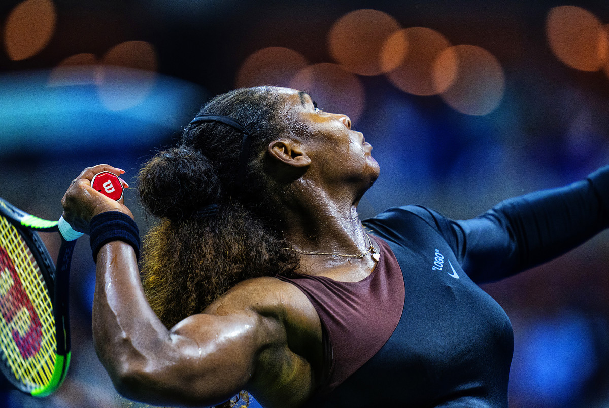 Serena Williams at the U.S. Open