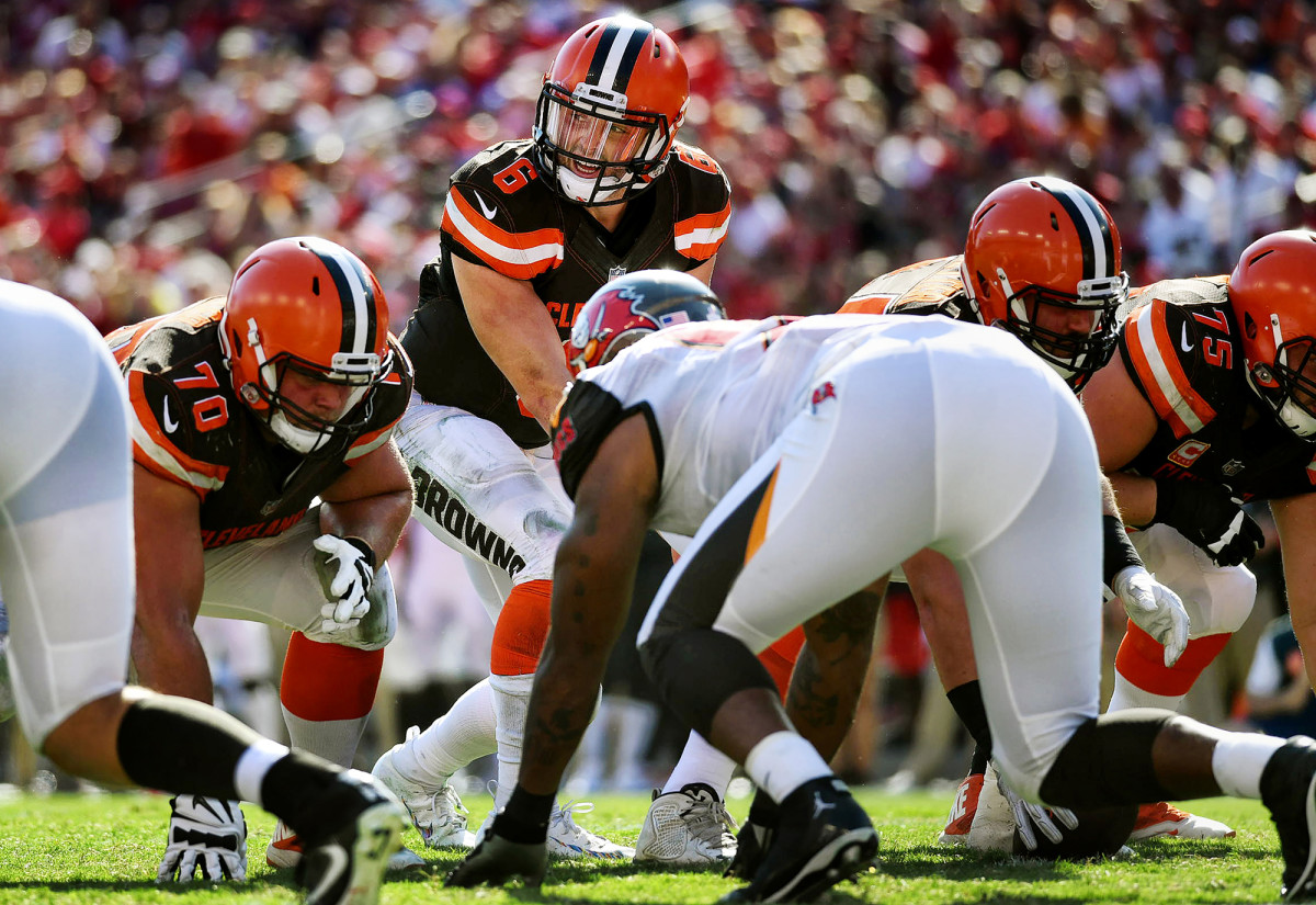 Cleveland Browns QB Baker Mayfield against the Tampa Bay Buccaneers