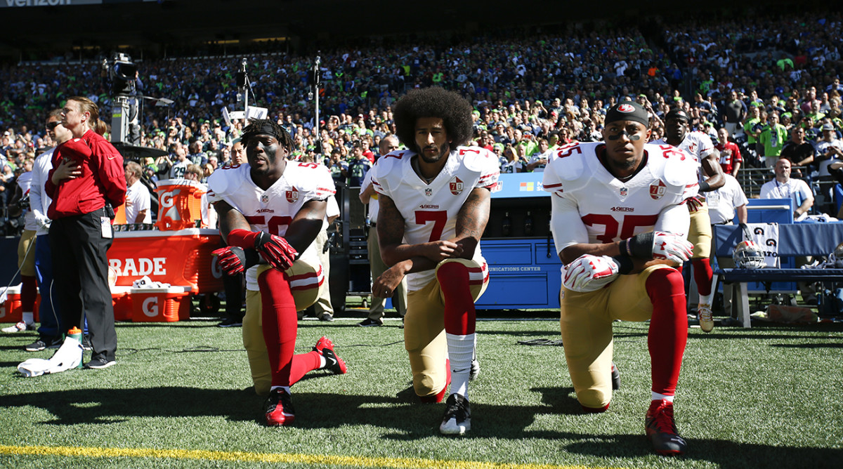 Facing an anthem-protest crisis, the NFL was paralyzed by the power of two polarized fan factions . . . and did nothing in the end.