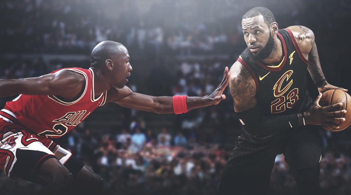 Michael Jordan vs. LeBron James: The