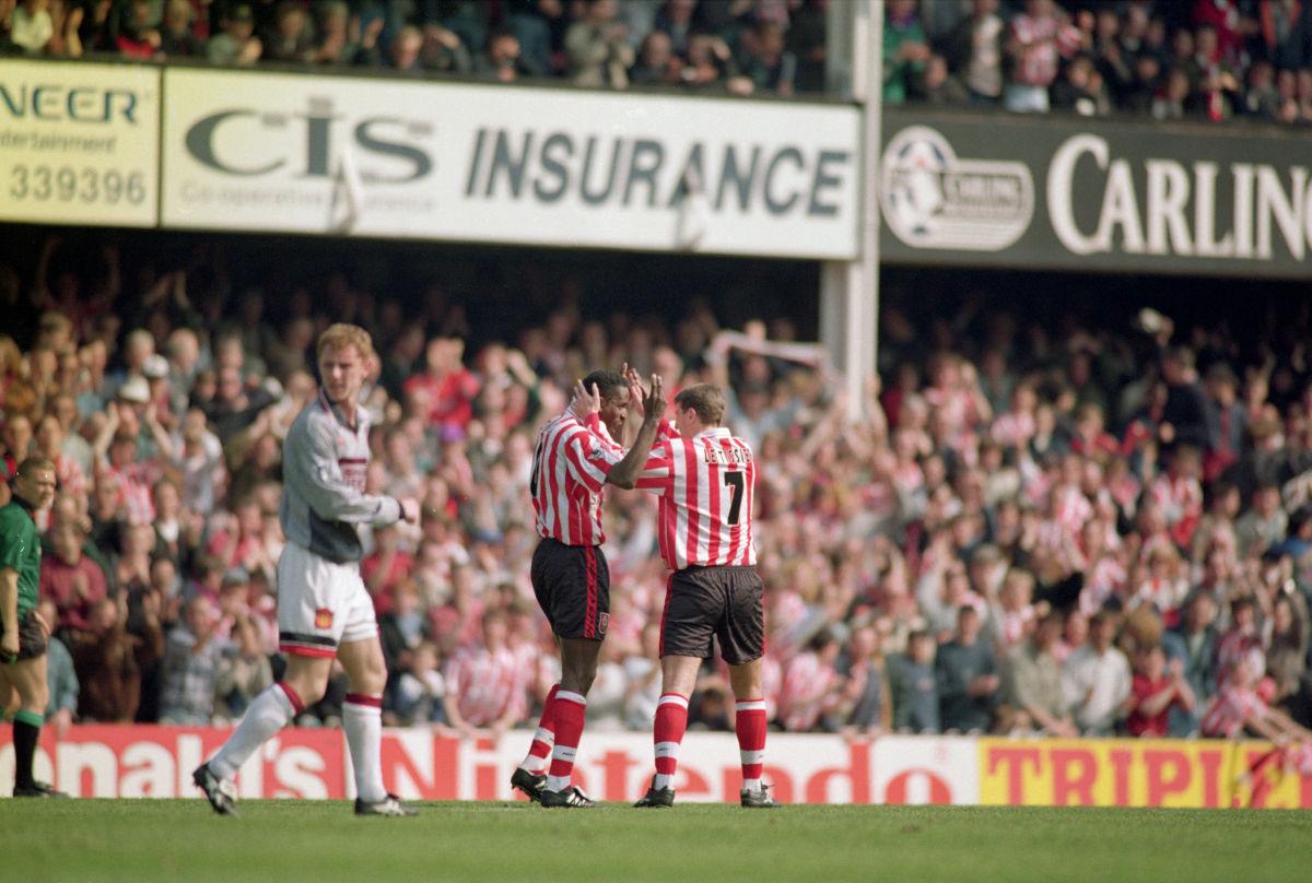 FA Carling Premiership: Southampton v Manchester United
