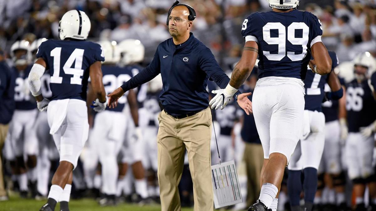 Penn State Coach James Franklin Gets in Exchange With Fan ...