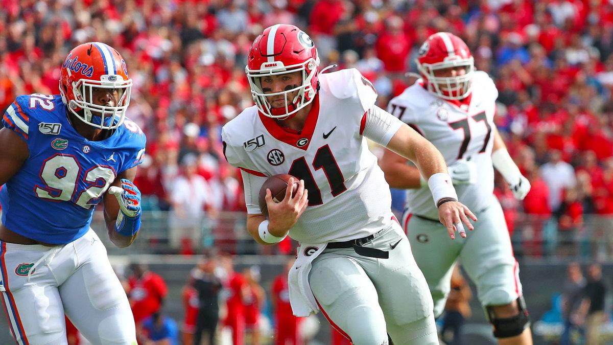 Georgia Football Jake Fromm vs Florida 2019
