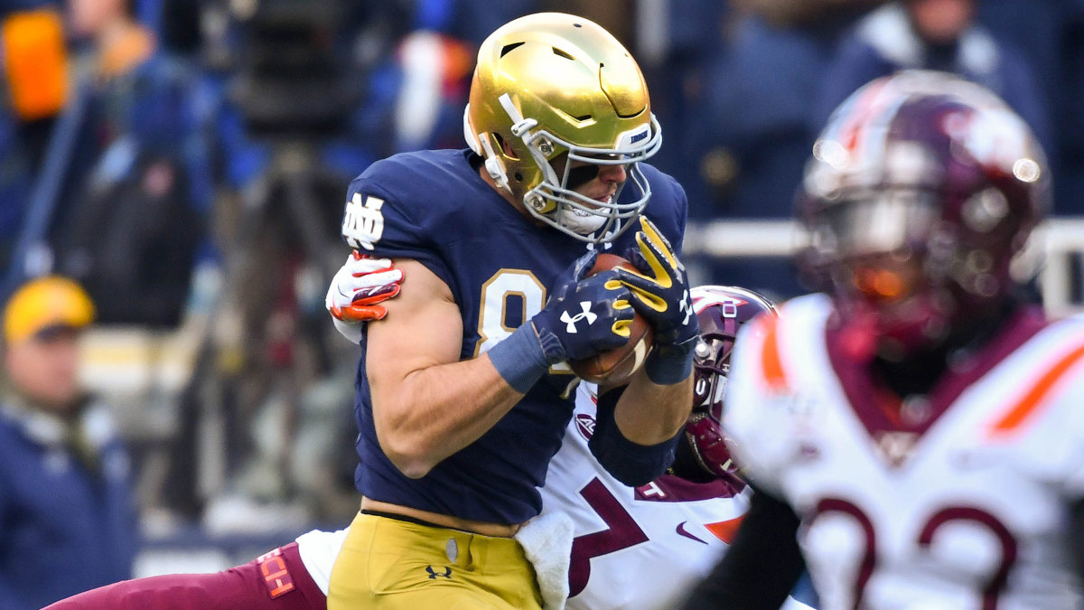 Notre Dame Rallies To Beat Virginia Tech In South Bend