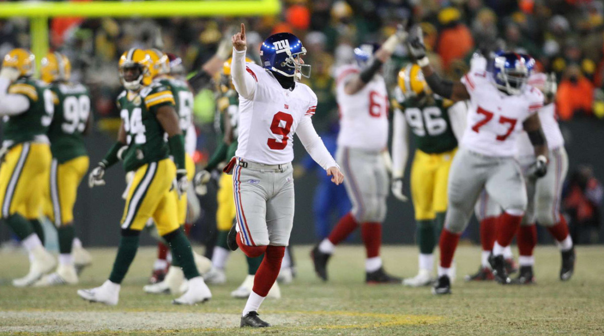 Tynes sent the Giants to the Super Bowl—and then led the charge to the warmth of the locker room.