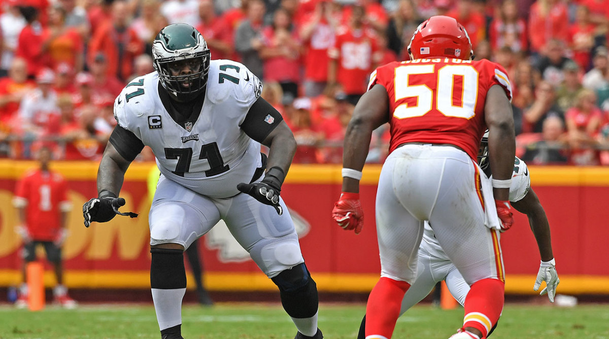 If the Eagles are going to keep their momentum going, they'll have to do it without left tackle Jason Peters.