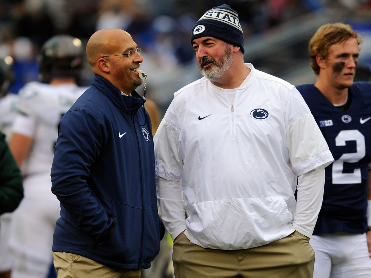 In Moorhead's first year as James Franklin's offensive coordinator, Penn State won its first outright Big Ten title in two decades and pushed USC to the limit in the Rose Bowl.