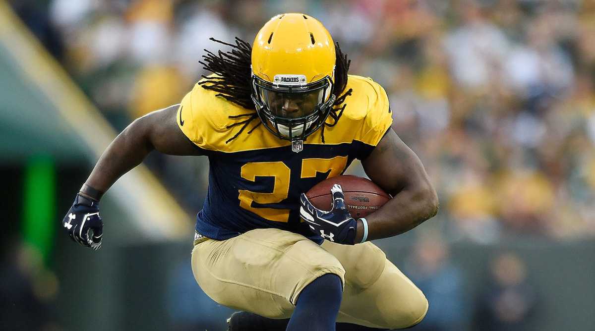 Seahawks Eddie Lacy says contract weight clause a