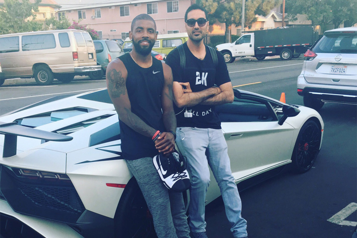 Ronnie Singh and Kyrie Irving