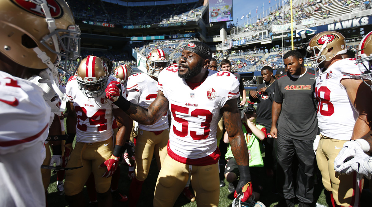 NaVorro Bowman has plenty to play for, even if the 49ers won't be competing into late January this season.