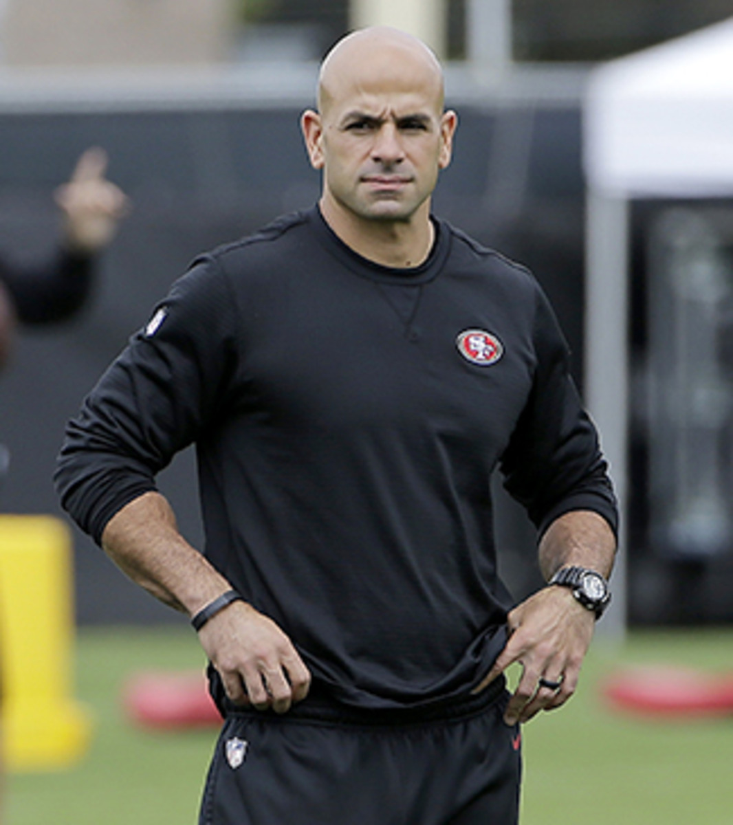 Saleh is entering his first year as a defensive coordinator.