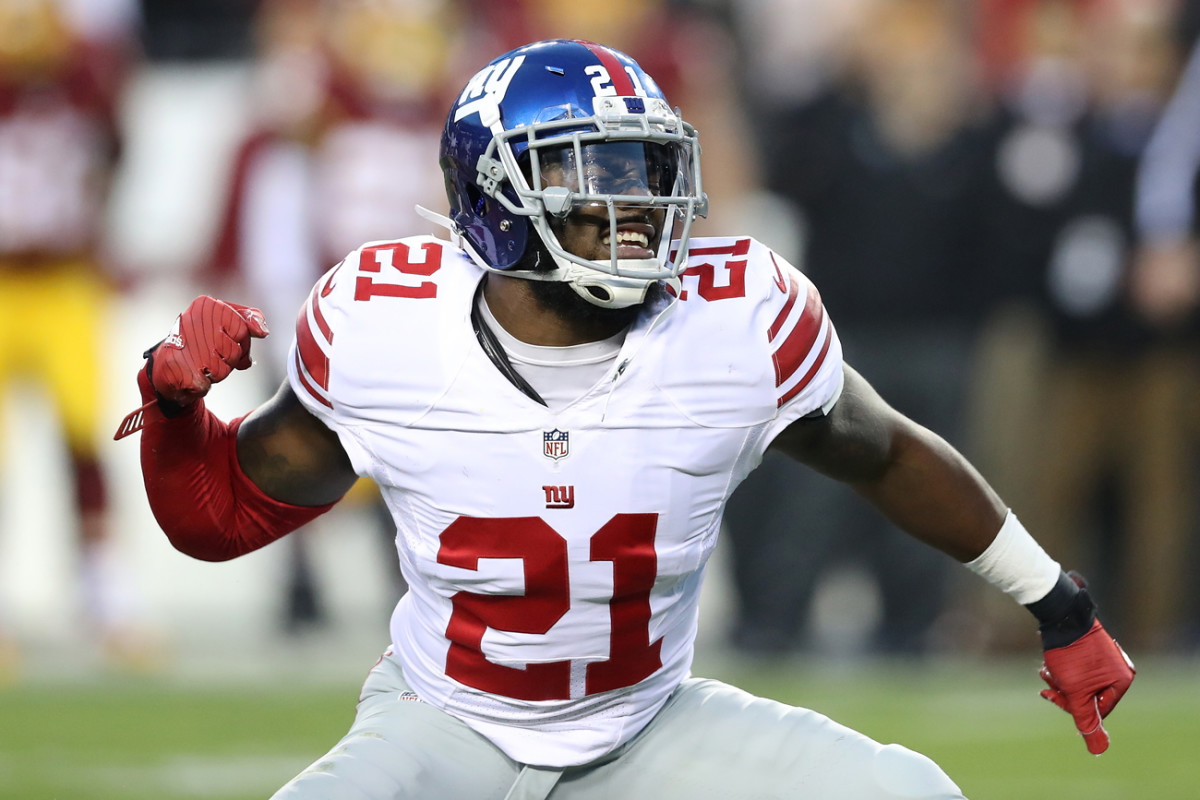Giants safety Landon Collins finished third in NFL defensive player of the year voting last season.