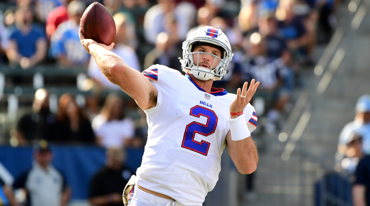 Nathan Peterman Earns Goat Status for Five-INT Day - Sports ...