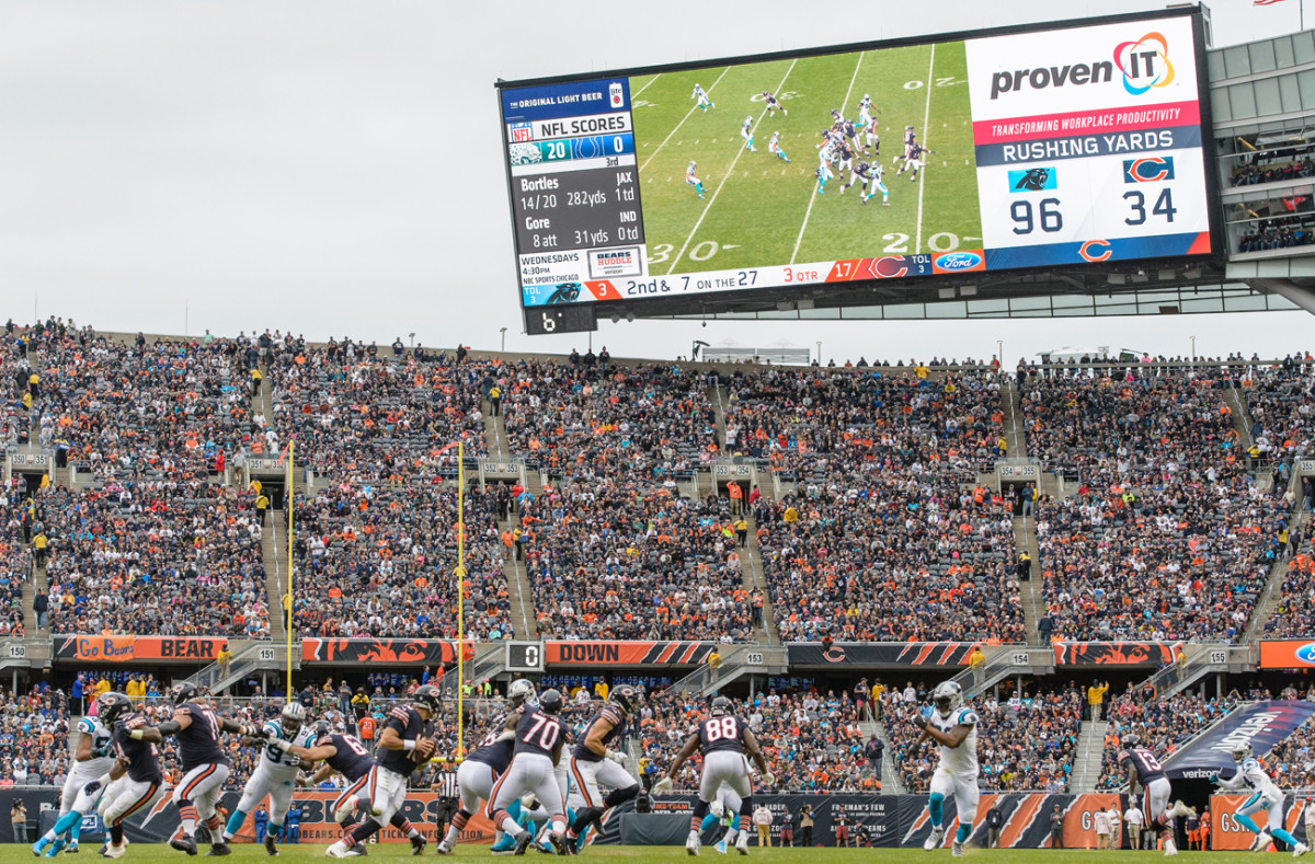 Bears vs. Panthers, Soldier Field.