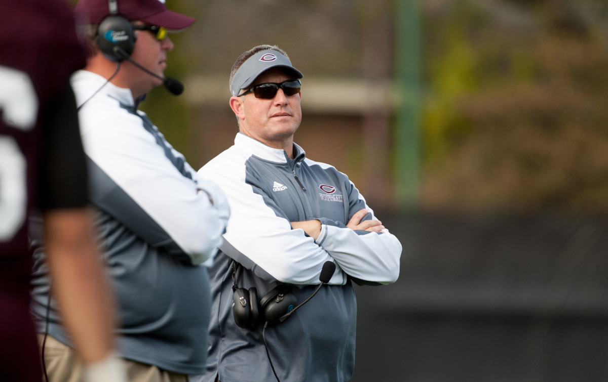 Chris Wilkerson, University of Chicago coach.