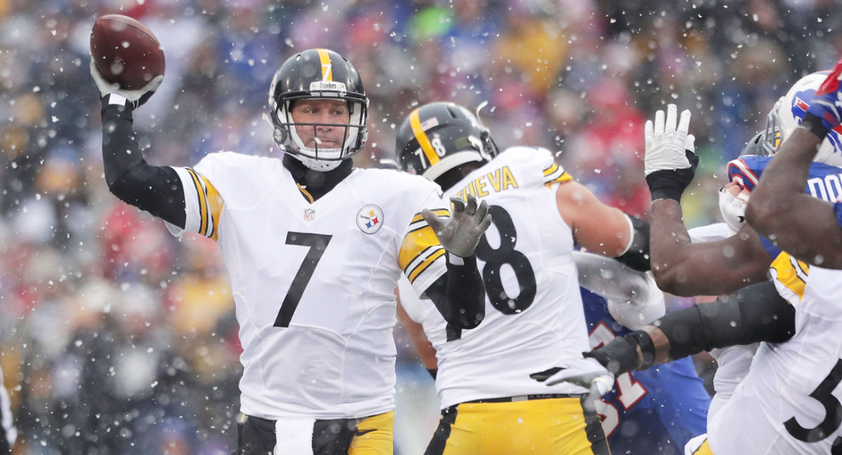 Ben Roethlisberger and the Steelers are on a seven-game winning streak heading into the postseason.