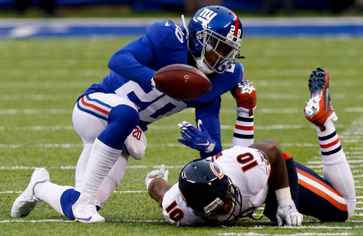 Janoris Jenkins had a Pro Bowl season, but has been dealing with back issues the past few weeks.