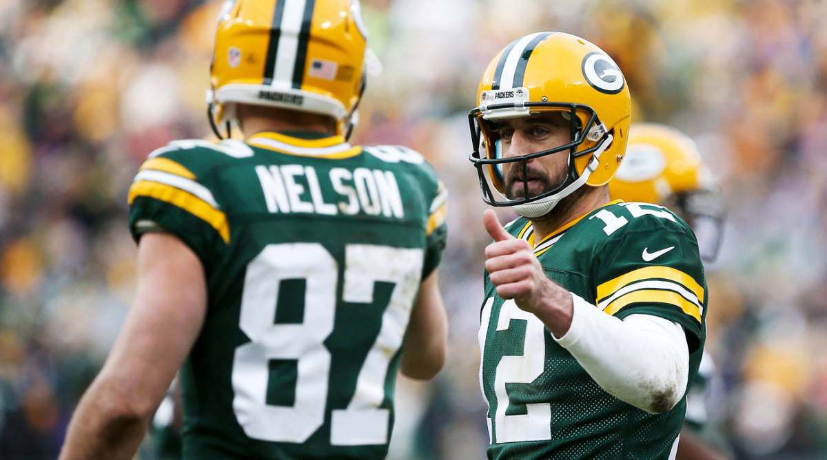 Aaron Rodgers' 40 TD passes this season were the most in his career since 2011.