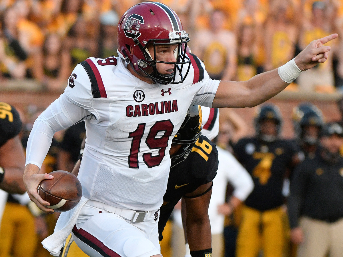 Jake Bentley and South Carolina have been one of the season's early surprises.