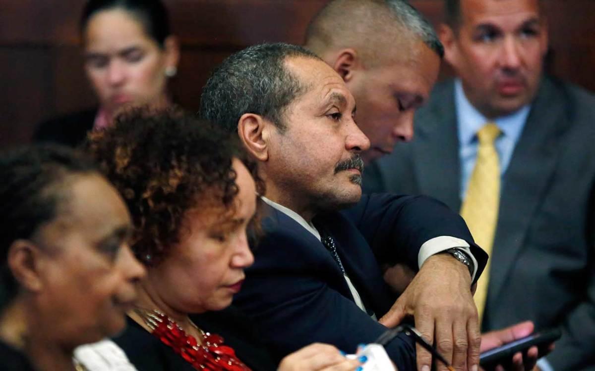 Ernesto Abreu, father of murder victim Daniel de Abreu, and family.
