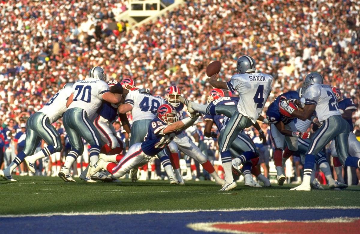 Tasker's Super Bowl punt block, a masterpiece of DeHaven's strategizing.