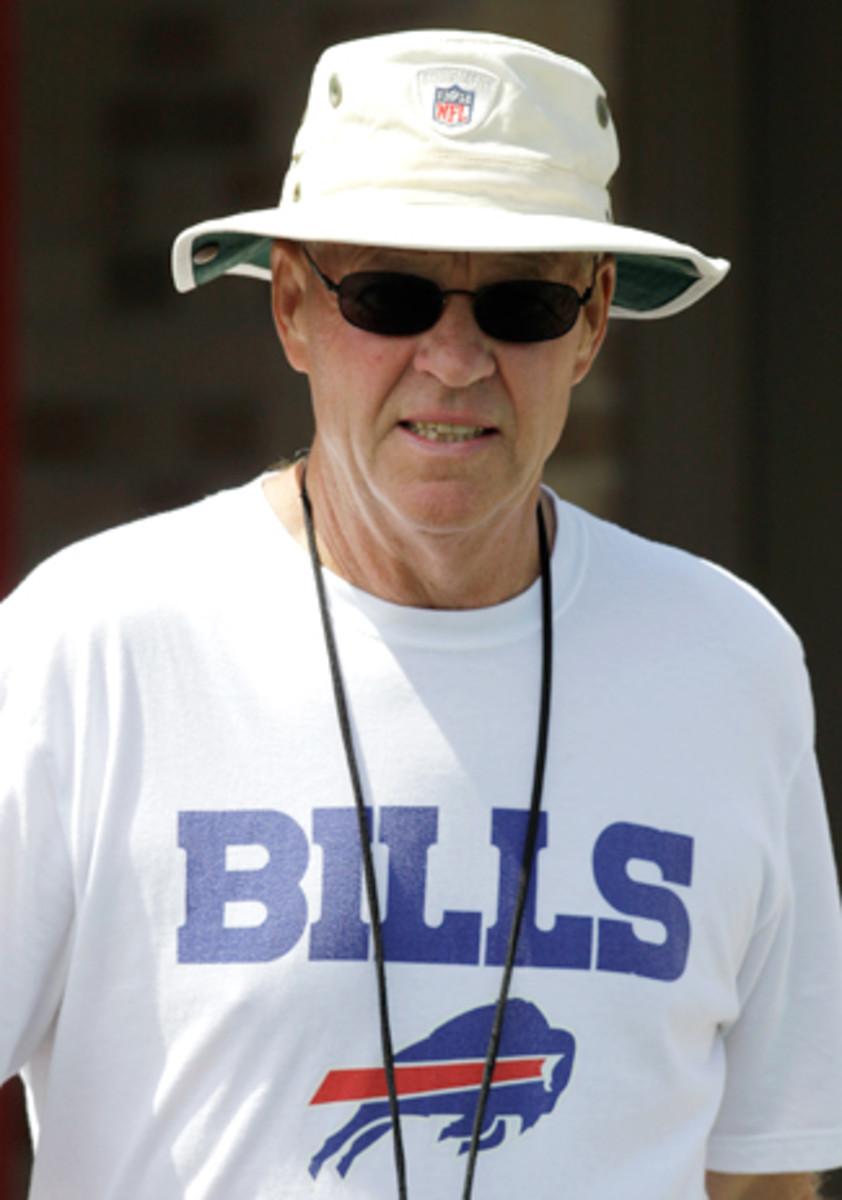 DeHaven at Bills camp in 2012.
