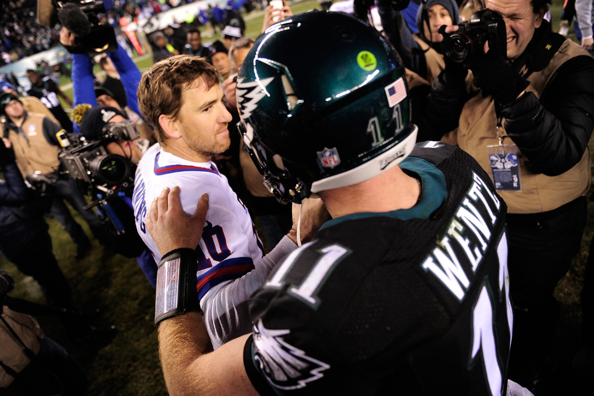 Wentz's quiet confidence reminds some of another NFC East quarterback.