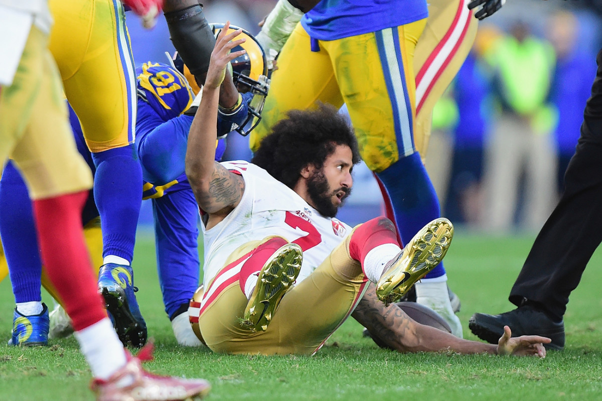 After being cut by the 49ers, Colin Kaepernick hasn't found a new team for the 2017 season.