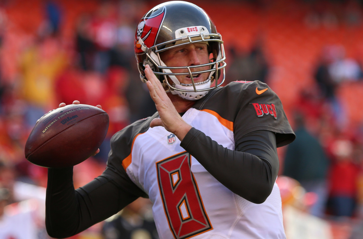 New Bears quarterback Mike Glennon could get some competition for the starting job after the draft.