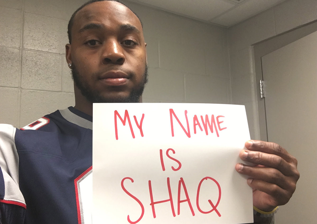 Shaq Mason is one of four Shaqs to have made the NFL, more than any other professional sport.