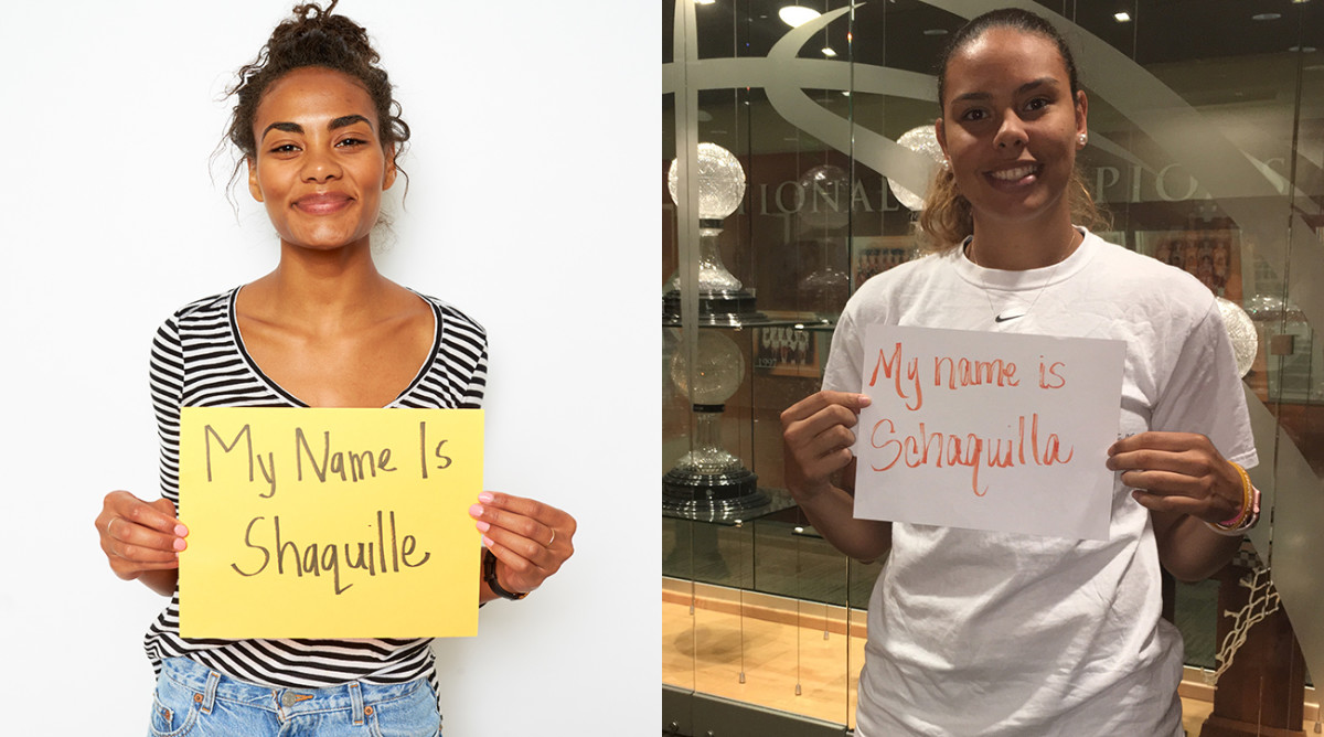 Shaquille Heath and WNBA draft pick Schaquilla Nunn are proof that Shaq's legacy isn't restricted to one gender.