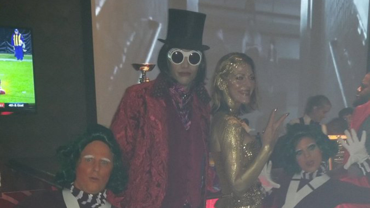 LeBron's Halloween party features some incredible costumes ...