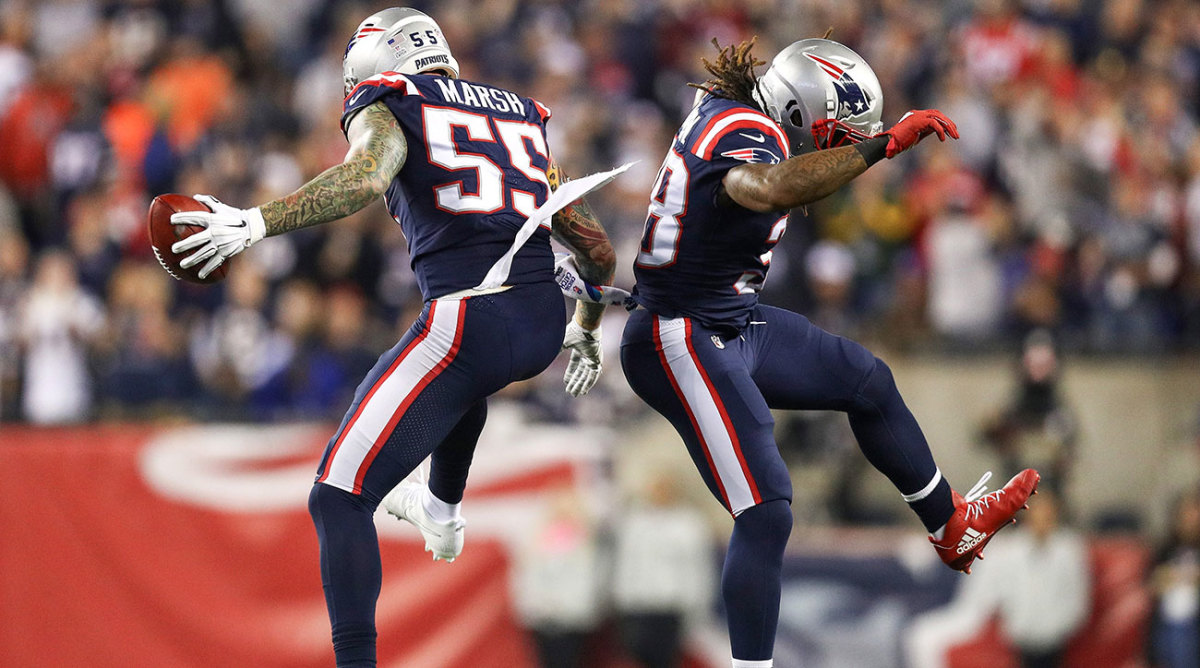 Edge defender Cassius Marsh is just the latest smart pickup by Bill Belichick.
