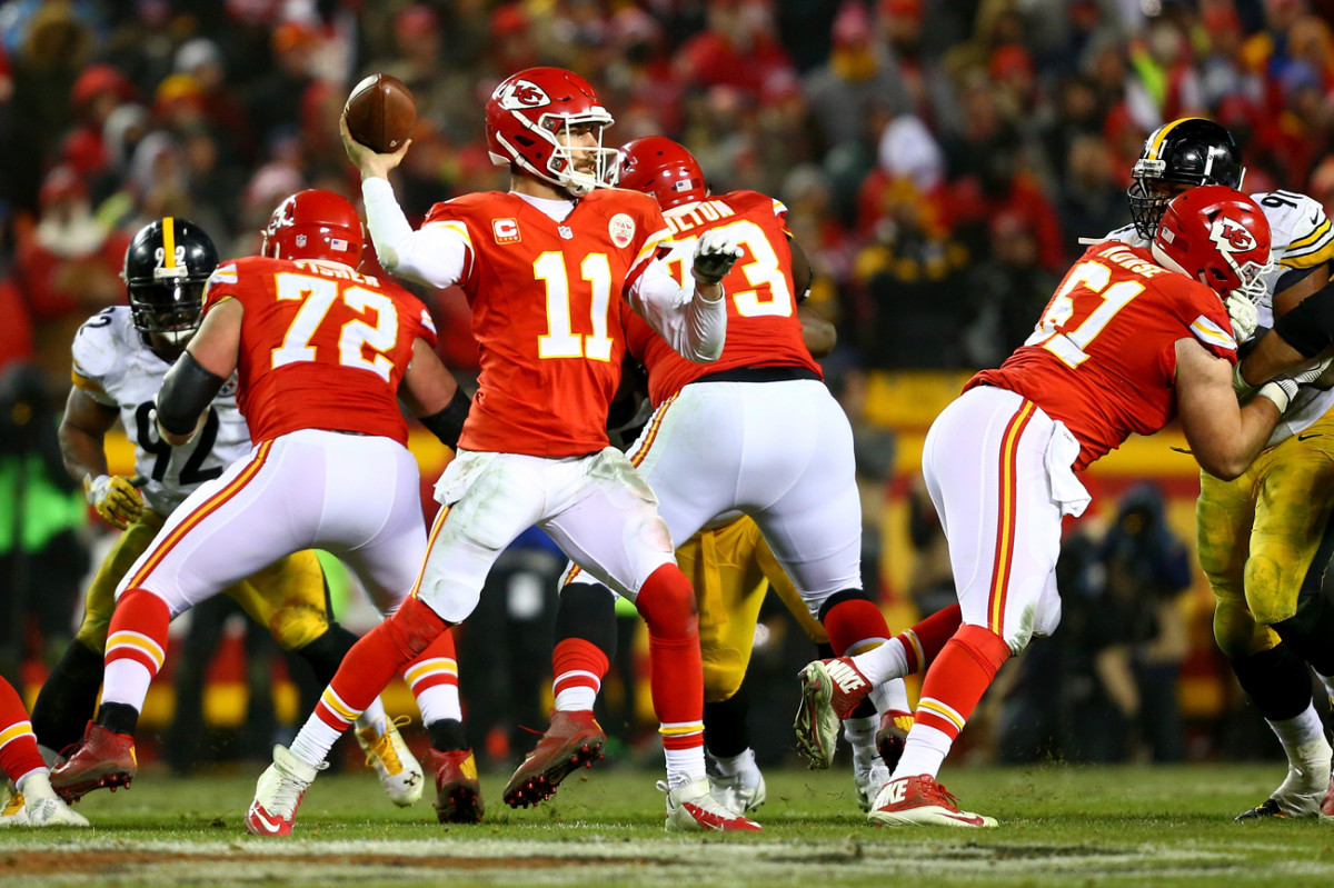 Alex Smith and the Chiefs enter the 2017 season coming off back-to-back appearances in the AFC divisional playoff round.