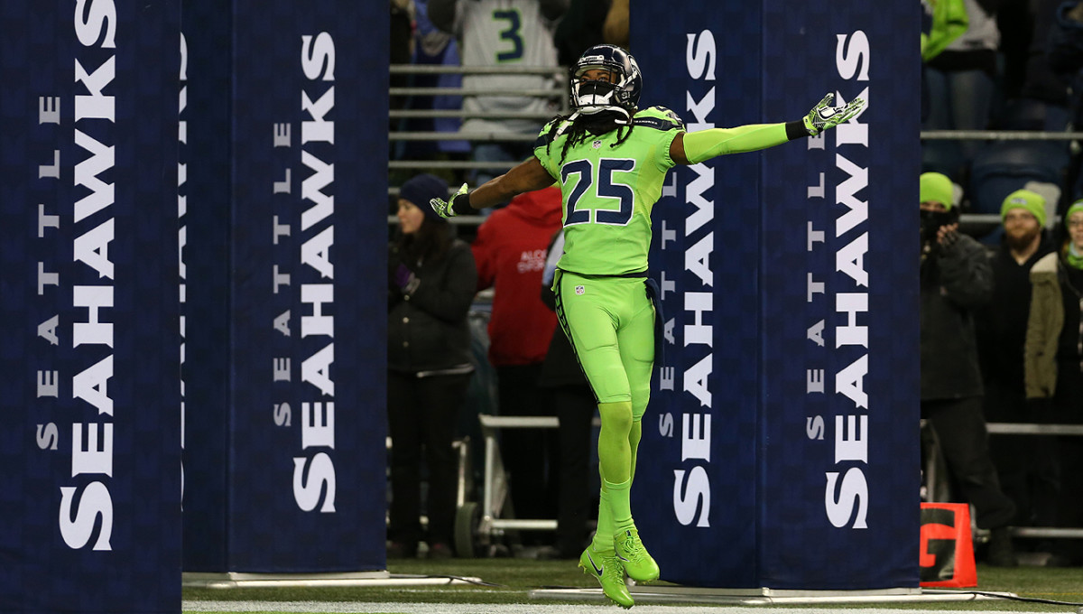 The Seahawks have discussed trading veteran corner Richard Sherman this offseason.