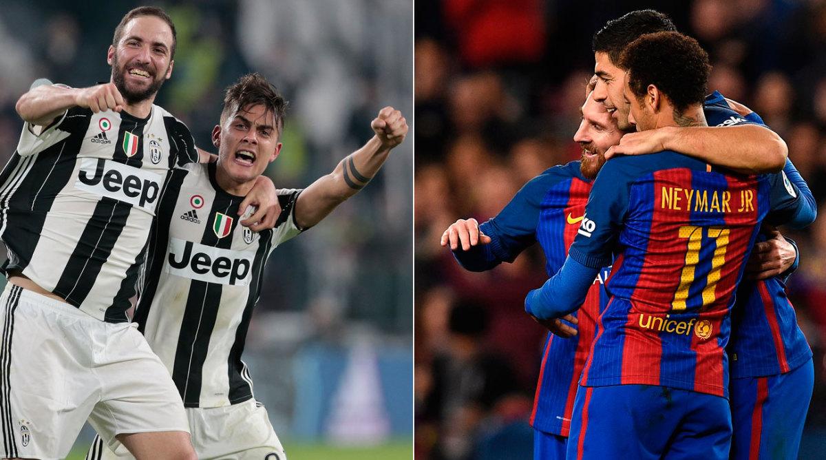 Juventus vs Barcelona: Champions League quarterfinals ...