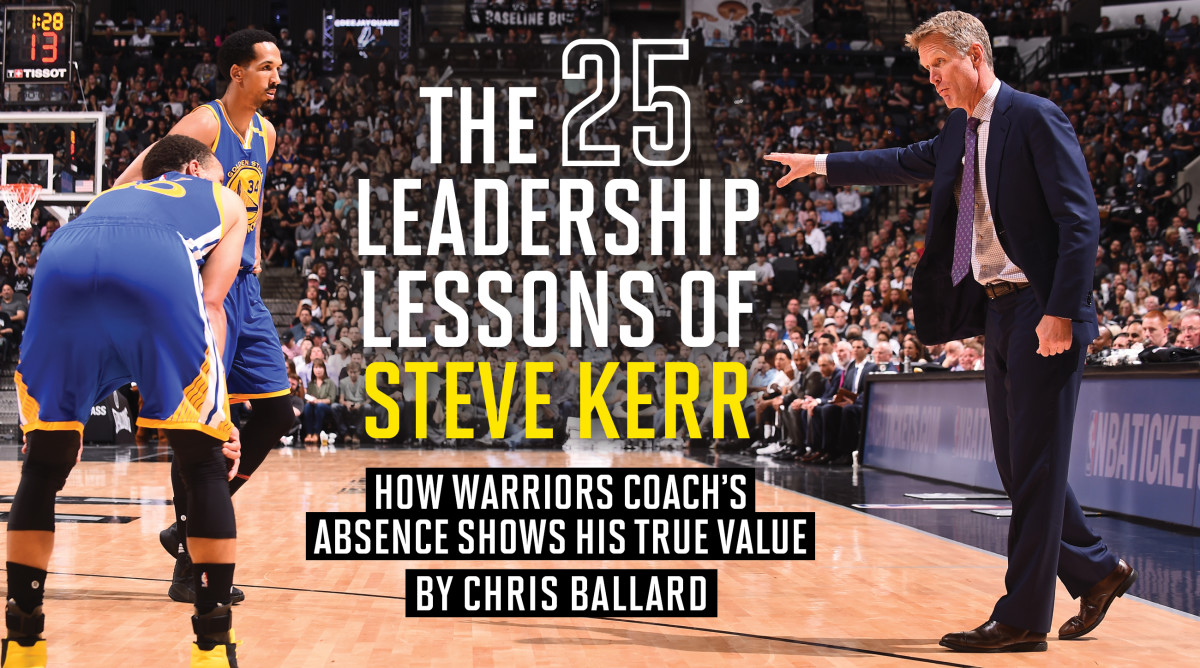 Steve Kerr's Absence: The True Test Of A Leader