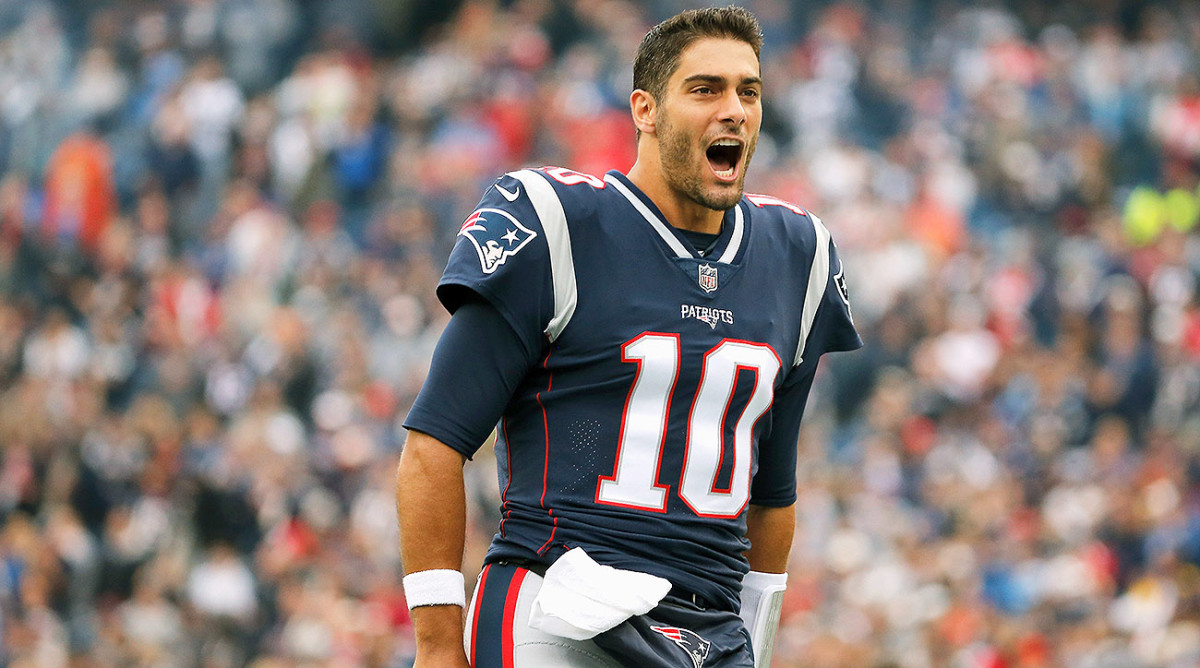 Jimmy Garoppolo trade: 49ers pay a lot, but good shot hes