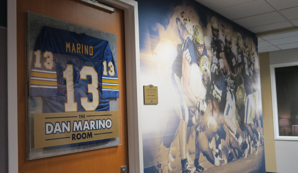 Pitt passers meet in the Dan Marino QB room. Not bad.