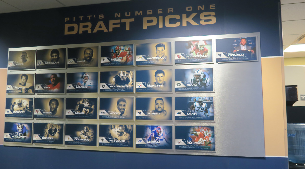 From Ditka to Marino to Revis, Pitt's Wall of Fame is replete with Western Pa. stars.