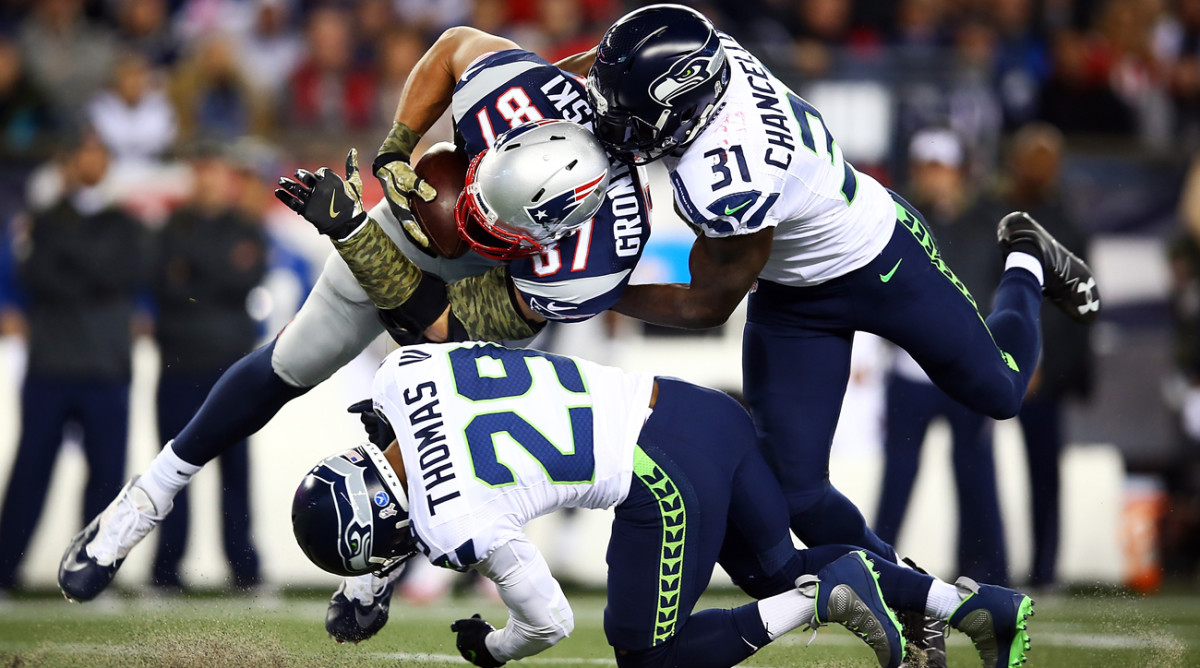The Patriots and Seahawks are Peter King's picks to reach Super Bowl 52 in Minnesota in February.