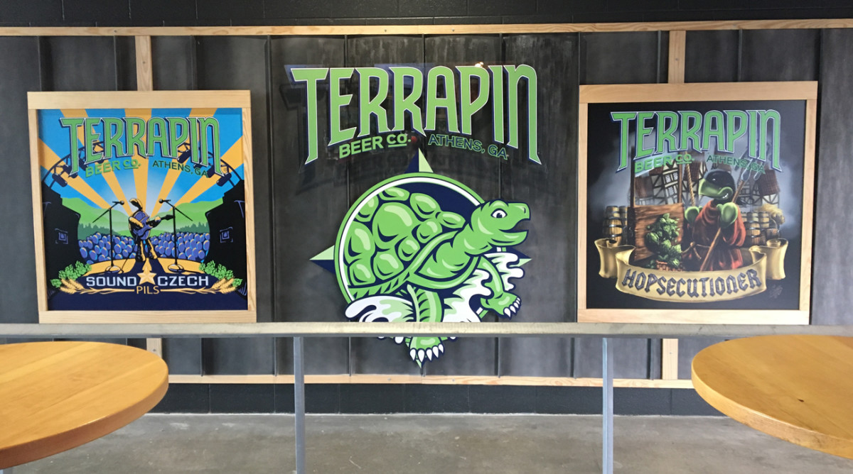 The Falcons offer several craft beer destinations in their new stadium, including Terrapin Brewing of Athens, Ga.