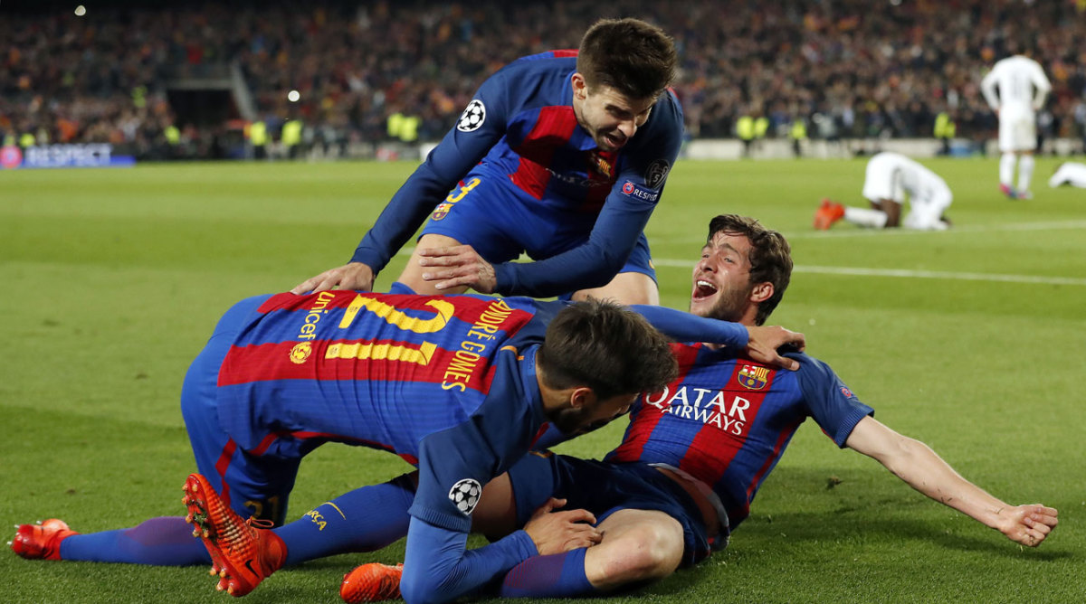 Champions League: Inside Barcelona's historic comeback vs ...