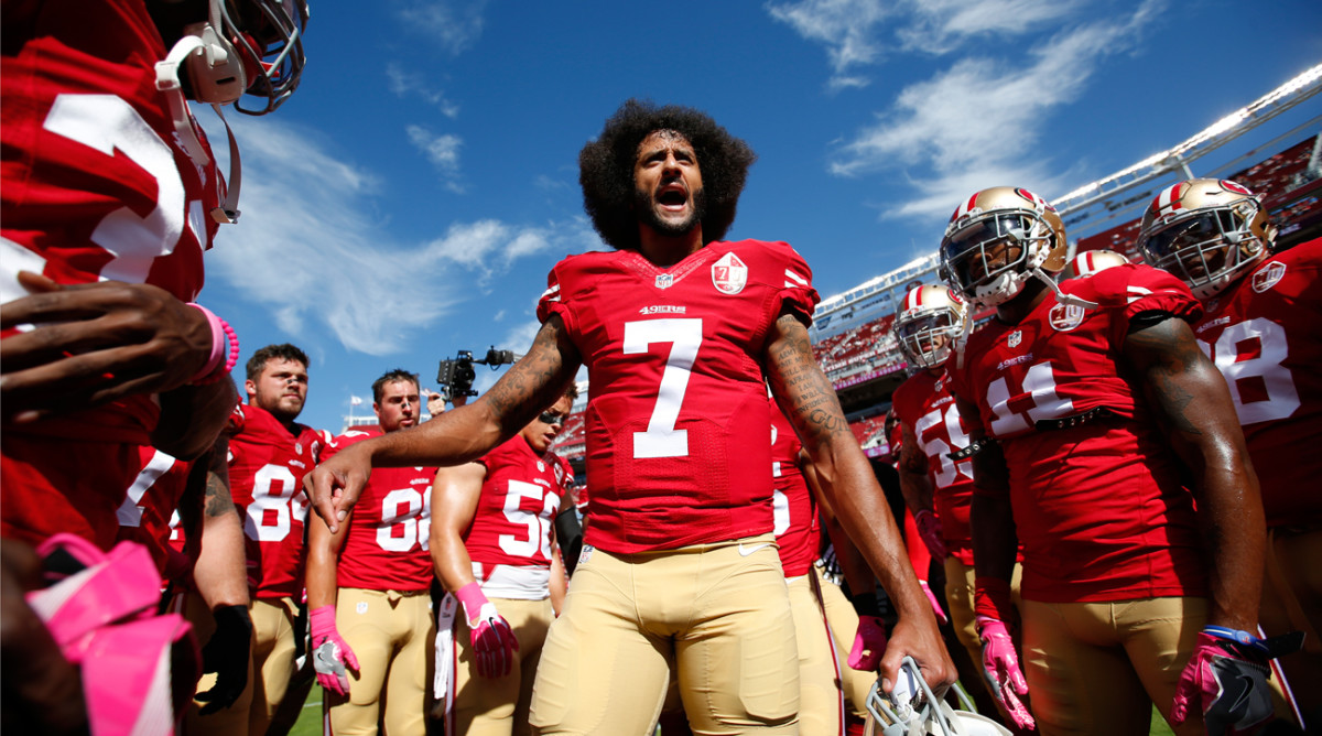 Colin Kaepernick remains unsigned, more than three months after opting out of the final year of his contract with the 49ers.
