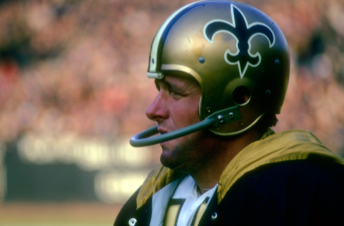 Billy Kilmer was the starter for much of the Saints' first four seasons.