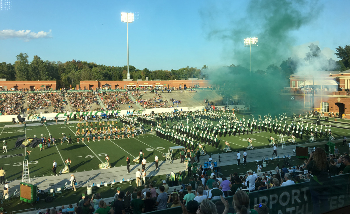 At UNC-Charlotte, If you build a program, the fans will (eventually) come.