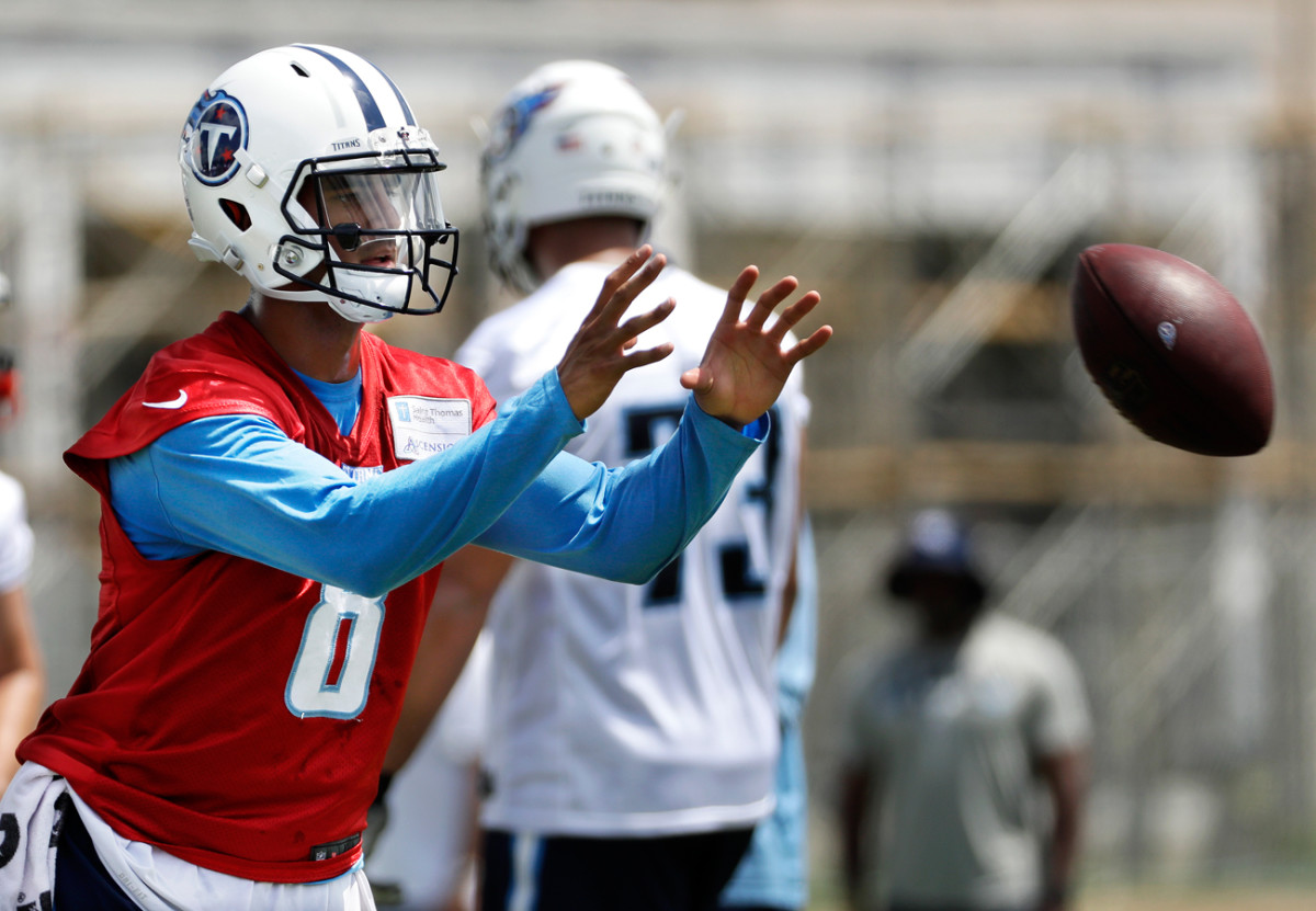 Marcus Mariota and the Titans likely will enter the season as the favorites to win the AFC South.