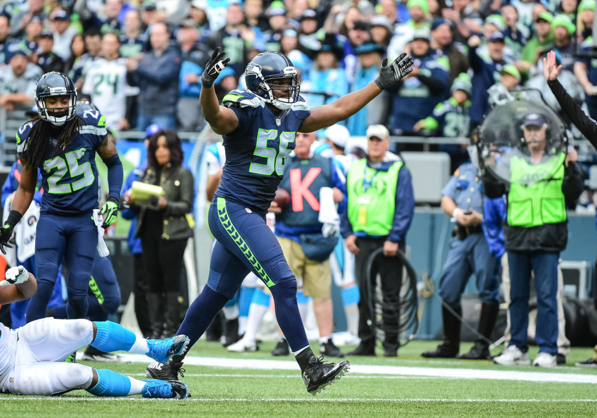 The Seahawks' Cliff Avril uses his on-field dominance to help those in need.